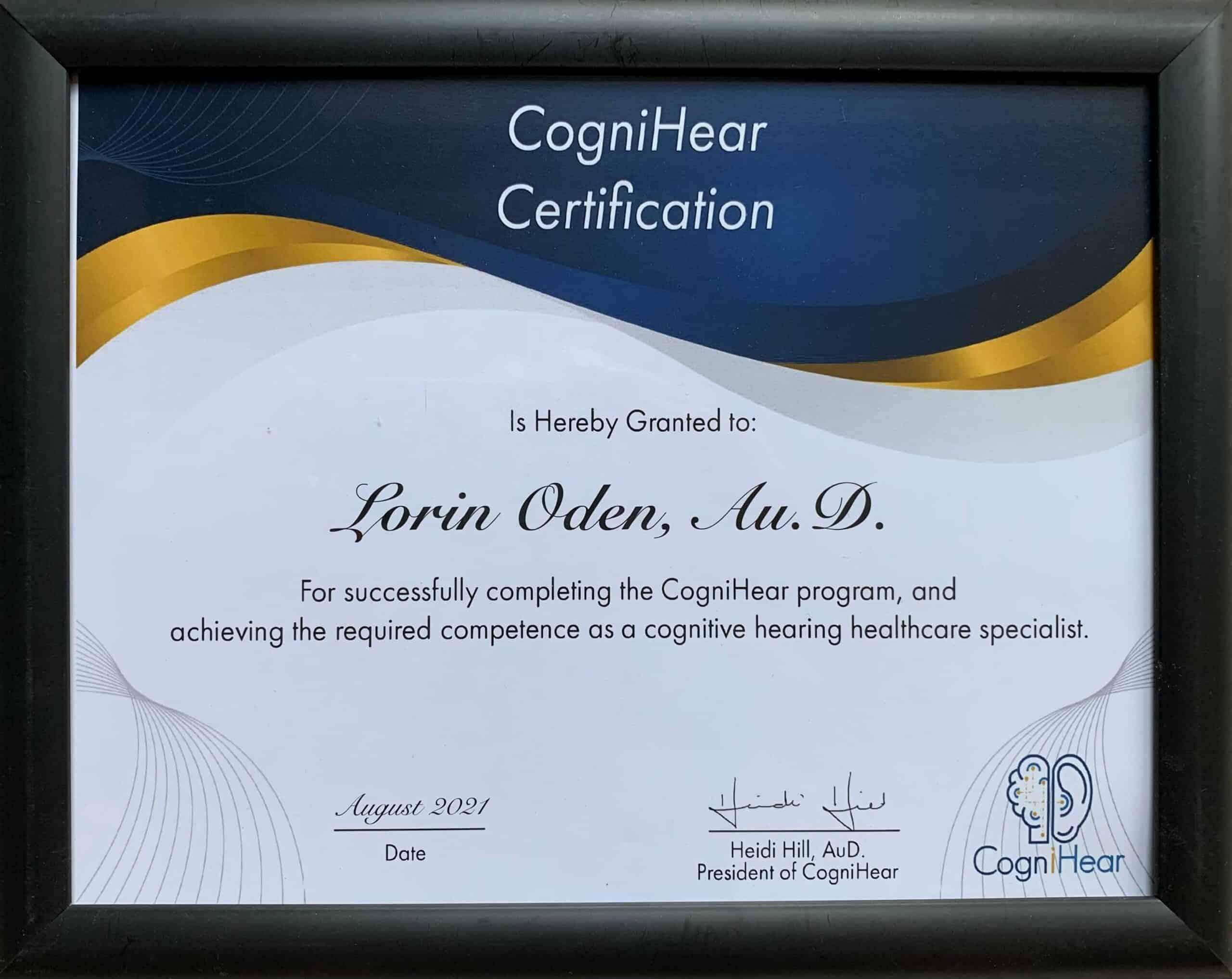 cognivue cognitive testing